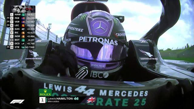 GP d'Émilie-Romagne (#2), Q3: Hamilton (GBR) en pole devant Perez (MEX) et Verstappen (NED) [RTS]