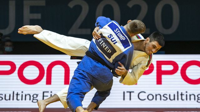 Nils Stump s'est paré de bronze Européens de Lisbonne. [EPA/MARTIN DIVISEK - Keystone]
