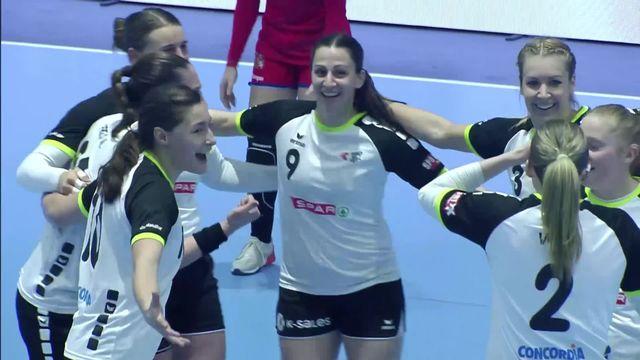 République tchèque - Suisse (27-27): les Suissesses arrachent le match nul [RTS]