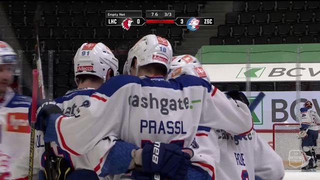 1-4, Acte III, Lausanne - Zurich (0-3): Zurich s'impose à l'extérieur et mène 2-1 dans la série [RTS]