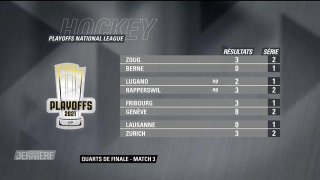 National League, 1-4 de finale, acte 3: résultats [RTS]