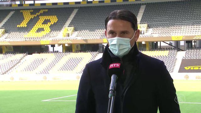 29e journée, Young Boys - Lugano (3-0): interview de Gerardo Seoane, entraîneur de Young Boys [RTS]