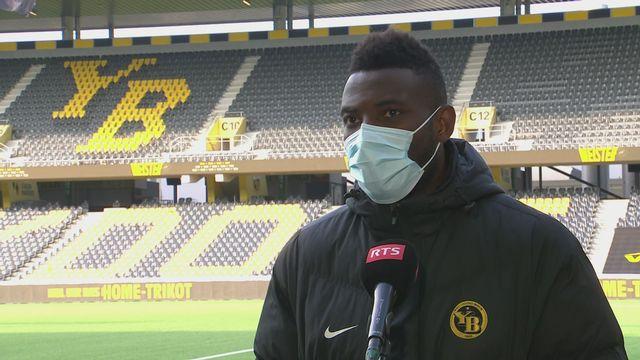 29e journée, Young Boys - Lugano (3-0): Jean-Pierre Nsamé au micro de la RTS [RTS]