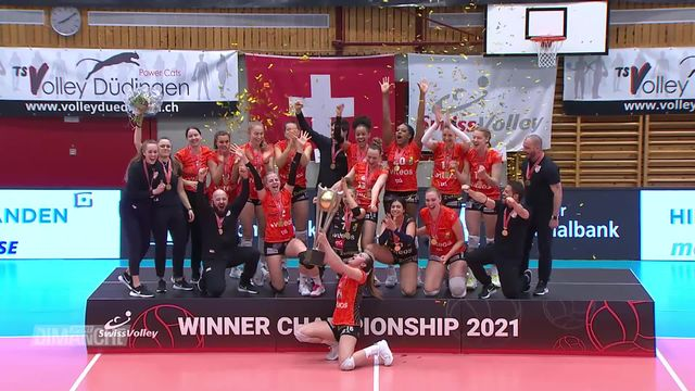 Volley - Les clubs romands champions [RTS]