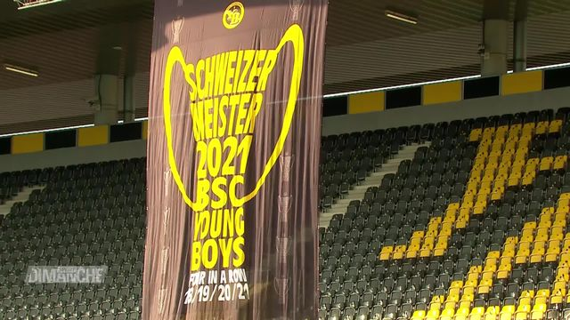 Football, Super League: Young Boys - Lugano (3-0) [RTS]