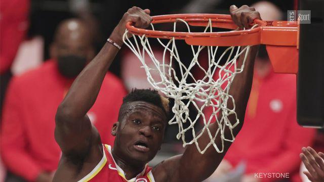 NBA: Clint Capela fait le point à quelques semaines des playoffs [RTS]
