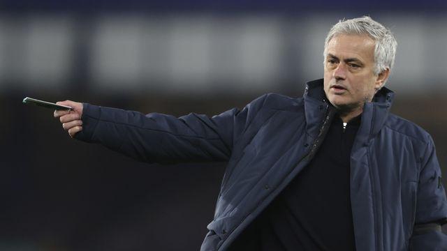 Mourinho était aux commandes des Spurs depuis novembre 2019. [Clive Brunskill - Keystone]