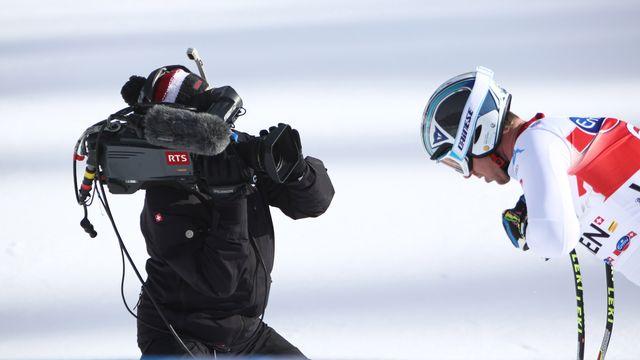2020. Ski alpin. Epreuves de Coupe du monde à Crans-Montana [RTS/Jay Louvion - RTS]