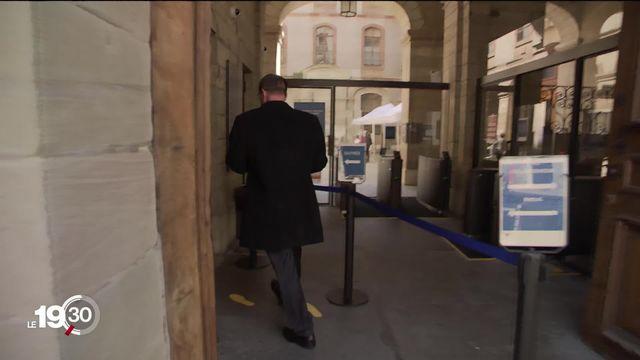 Le procès de l'encaveur Dominique Giroud s'est ouvert lundi à Genève. [RTS]