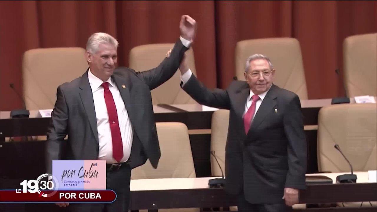 Cuba.C'est le dernier jour de Raoul Castro à la tête du Parti communiste. [RTS]
