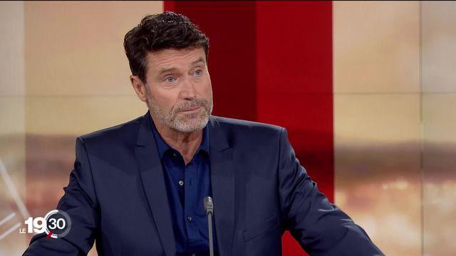 Le rédacteur-en-chef des Sports de la RTS Massimo Lorenzo sur la bombe d'une Super League européenne privée. [RTS]