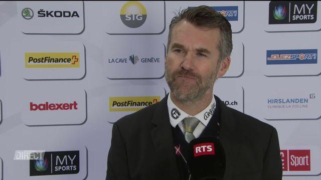 1-4, Acte IV, Genève - Fribourg (4-0): Dubé à l'interview après la défaite [RTS]