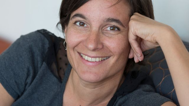 L'autrice Mélanie Richoz. [Mélanie Rouiller]