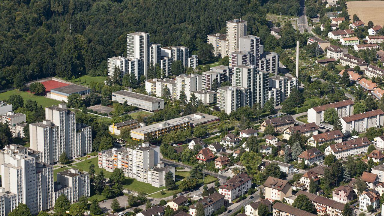 Immeubles à Berne. [Alessandro Della Bella - KEYSTONE]