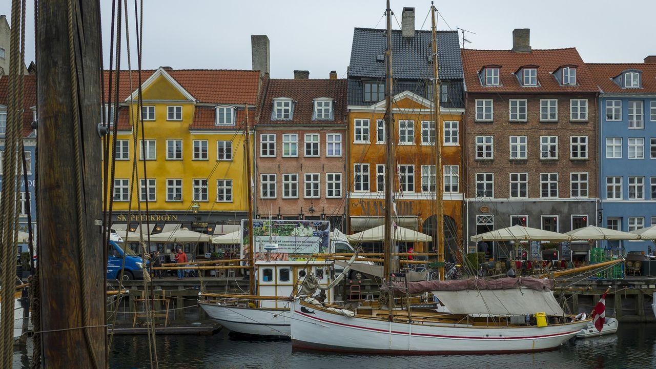 Vue d'un canal dans la capitale danoise Copenhague. [Georgios Kefalas - Keystone]