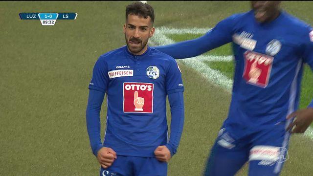 30e journée, Lucerne - Lausanne-Sport (1-0): Tasar punit le LS dans les dernières minutes ! [RTS]