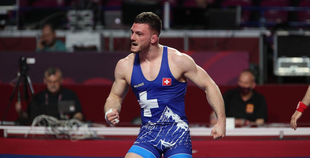 Samuel Scherrer a obtenu une 2e médaille d'argent consécutive aux championnats d'Europe. [Freshfocus]