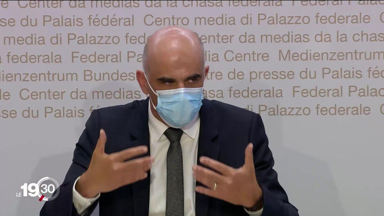 La vaccination, la clé d'un retour à la normale selon Alain Berset [RTS]