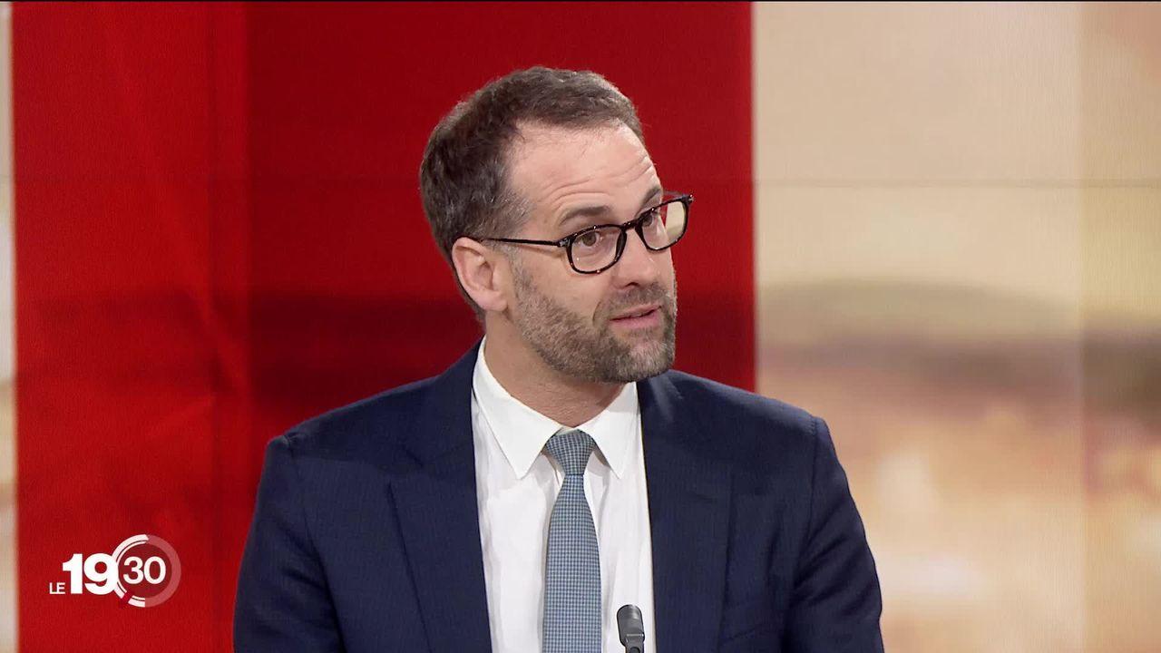 """Antonio Hodgers: """"Les cantons n'ont pas de compétence pour interdire la technologie 5G"""". [RTS]"""