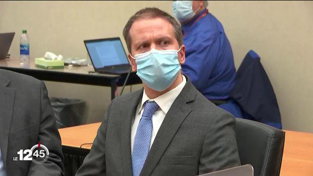 Le policier Derek Chauvin a été déclaré coupable du meurtre de George Floyd. [RTS]