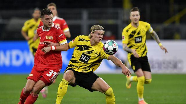 Les joueurs de Bundesliga finiront le championnat dans une forme de bulle. [Martin Meissner - Keystone]