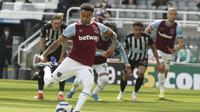 Lingard a encore marqué samedi dernier lors de la défaite 3-2 de West Ham à Newcastle. [Dave Rogers - Keystone]