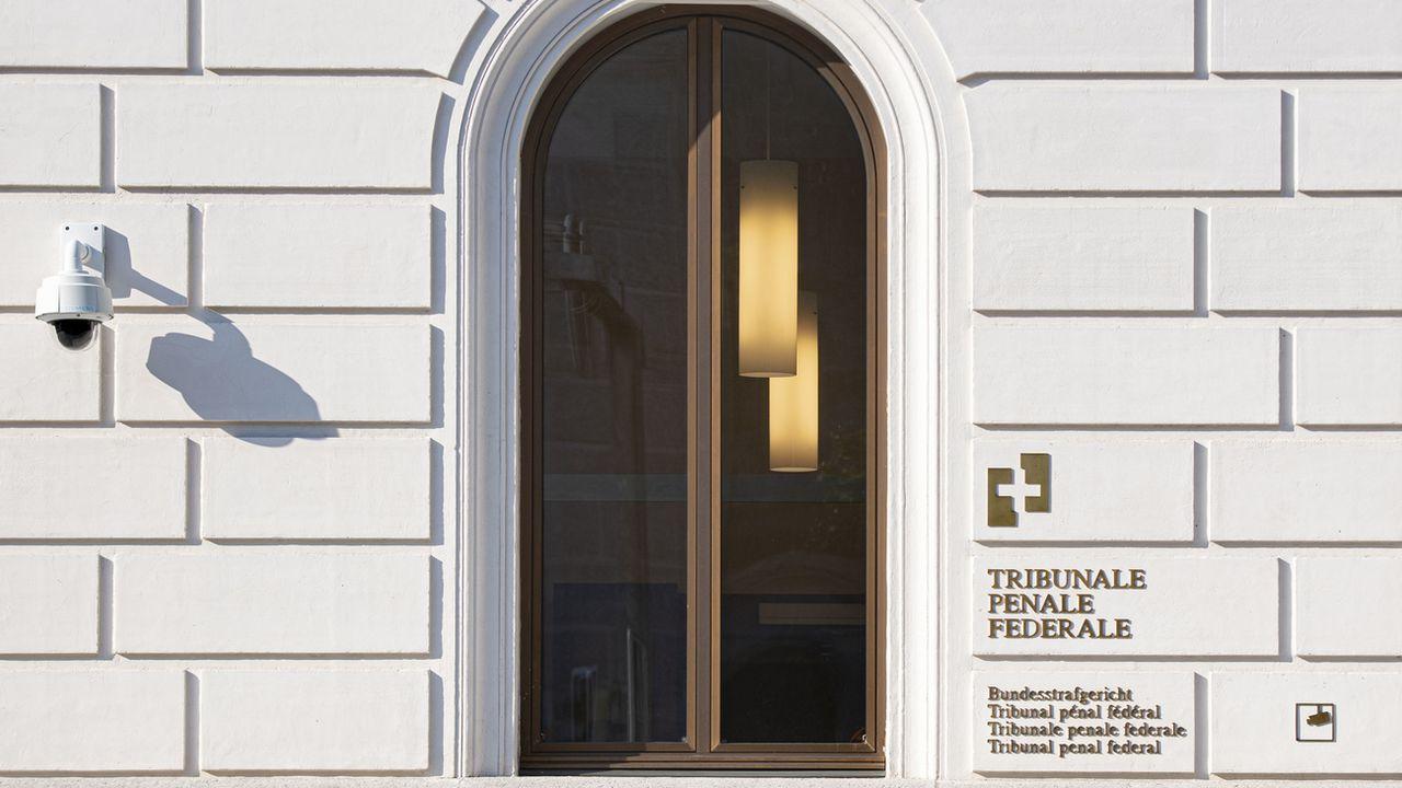 Le Tribunal pénal fédéral, à Bellinzone. [Pablo Gianinazzi - Keystone/Ti-Press]