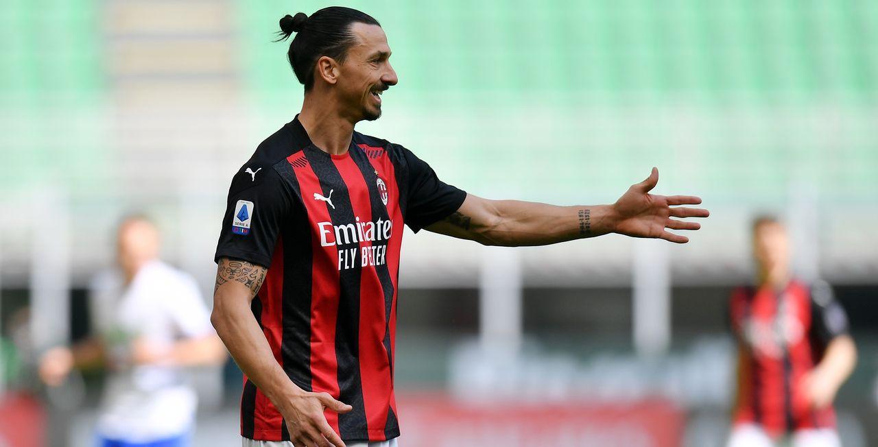 Zlatan Ibrahimovic continue l'aventure à Milan. [Daniele Mascolo - Reuters]