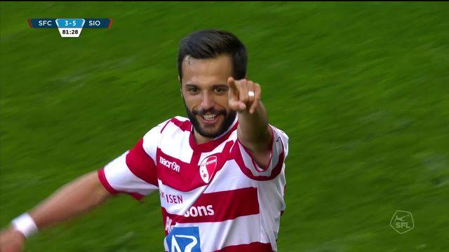 Super League, 30e journée: Servette - Sion (3-5): les buts de la rencontre [RTS]