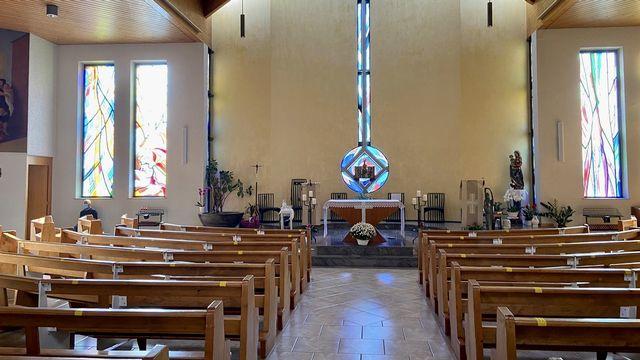 L'Église St-Joseph de Lausanne dans le canton de Vaud. [José Michellod - RTS ]