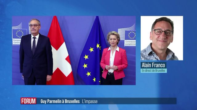 L'accord-cadre entre la Suisse et l'Union européenne dans une impasse [RTS]