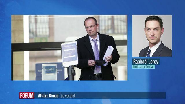 Dominique Giroud condamné au sursis pour sa tentative de piratage [RTS]
