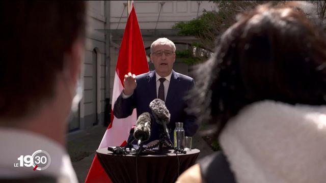 Accord-cadre : Les réactions des acteurs politiques et économiques suisses. [RTS]
