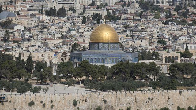 Nouveaux accrochages à Jérusalem et près de la bande de Gaza. [ATEF SAFADI - EPA]