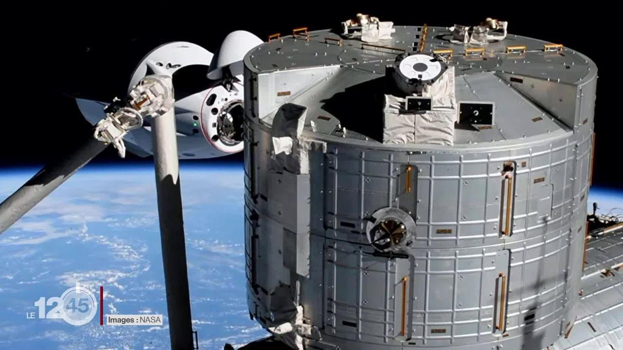 La capsule Crew Dragon Endeavour de SpaceX s'est amarrée à la Station spatiale internationale [RTS]