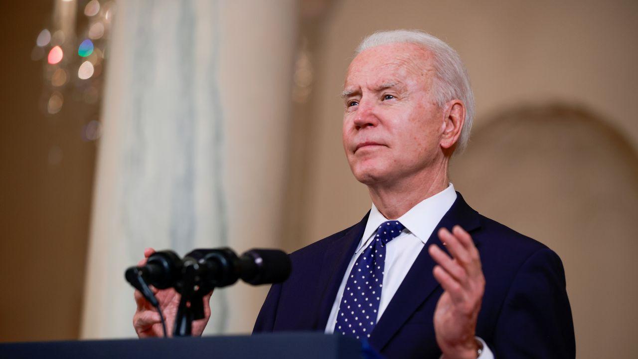 Samedi, Joe Biden est devenu le premier président américain à reconnaître le génocide arménien. [Tom Brenner - Reuters]