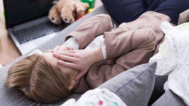 Quʹest-ce que le burn-out parental et comment lʹéviter? (image d'illustration) [Photographee.eu - Fotolia]