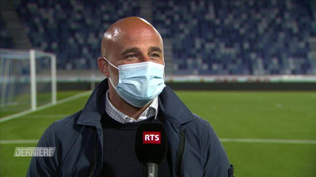 Football, Super League, 31e journée:  Lausanne-Sport - Bâle (3-3): la réaction de Giorgio Contini [RTS]