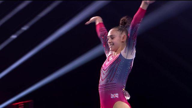 Finales par engins, sol dames: Jessica Gadirova (GBR) remporte le titre [RTS]