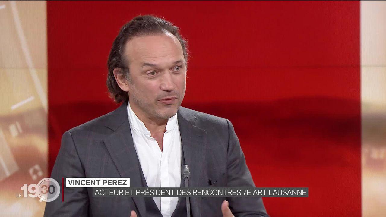Les Rencontres du 7e art se feront en ligne et au cinéma à Lausanne. Entretien avec l'acteur et réalisateur Vincent Perez, créateur des Rencontres [RTS]