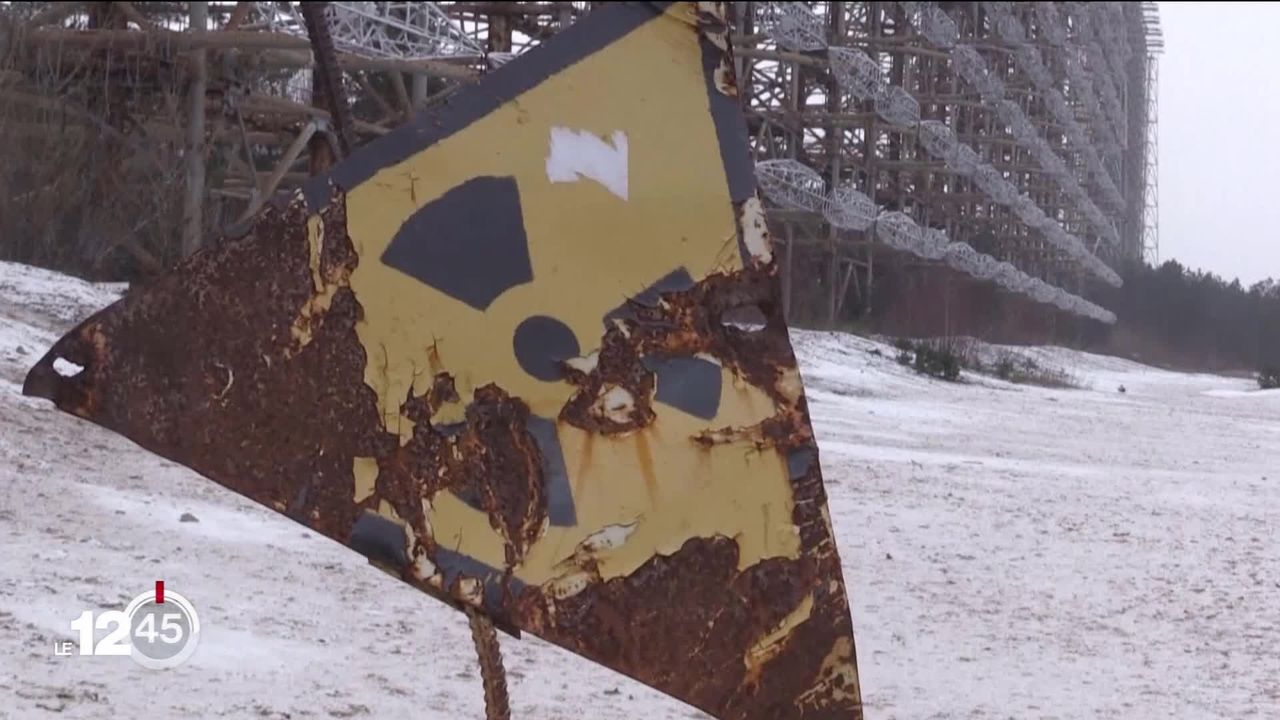 35 ans après la catastrophe, le site de Tchernobyl est devenu un lieu de mémoire touristique [RTS]