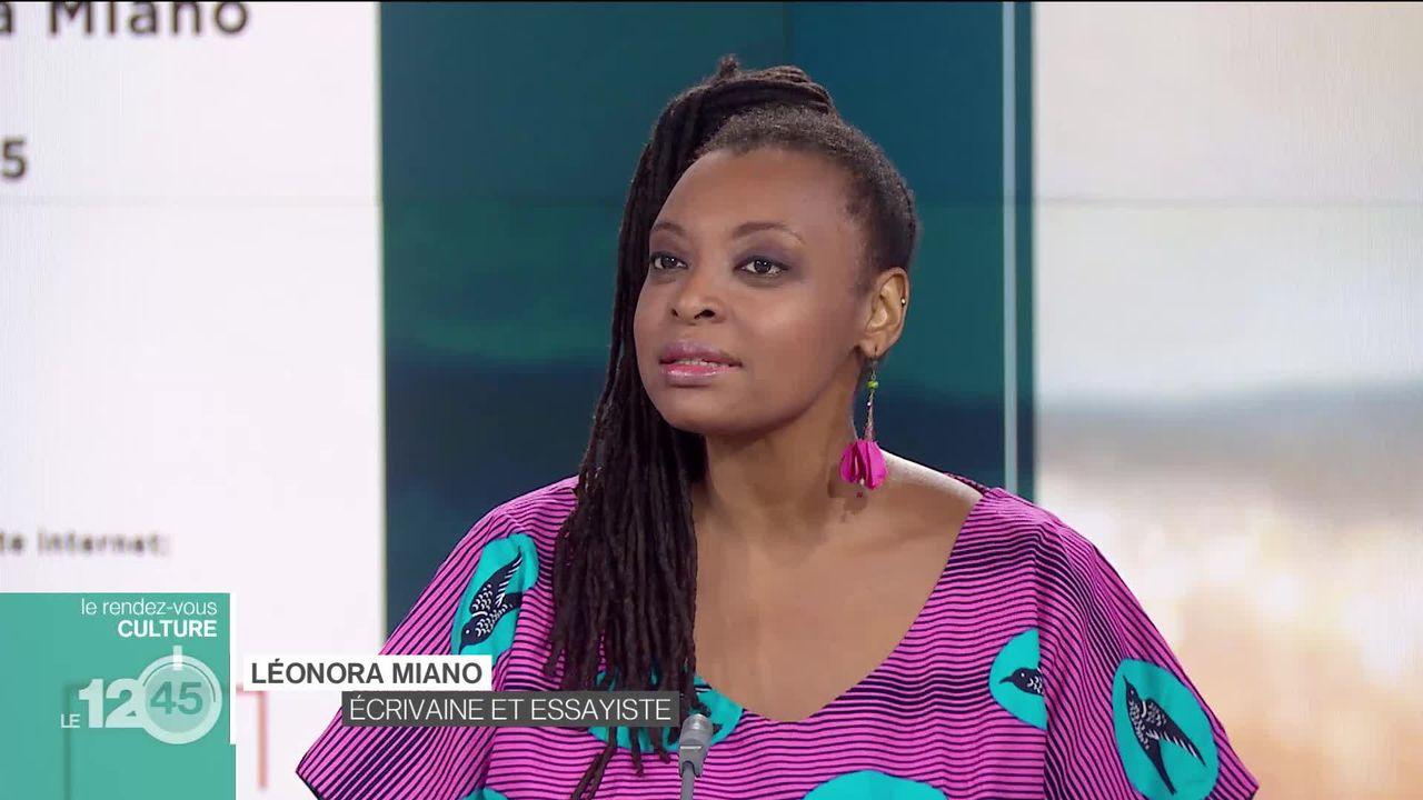"""Rendez-vous culture: la romancière et essayiste franco-camerounaise Léonora Miano présente son essai """"Afropea"""" [RTS]"""