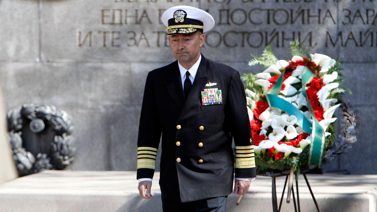 James Stavridis, commandant des forces de l'OTAN de 2009 à 2013. [REUTERS]
