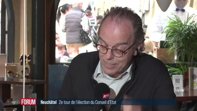 2ème tour Neuchâtel: débat sur l'environnement [RTS]