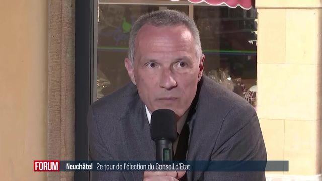 2ème tour Neuchâtel: débat sur l'emploi [RTS]