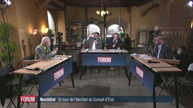 2ème tour Neuchâtel: débat sur l'attractivité [RTS]