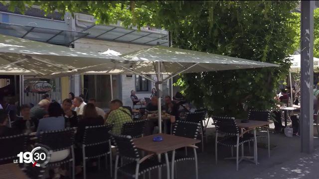 La ville de Genève présentait cet après-midi ses objectifs pour 2030 en matière de végétalisation: 30% de surface arborée [RTS]