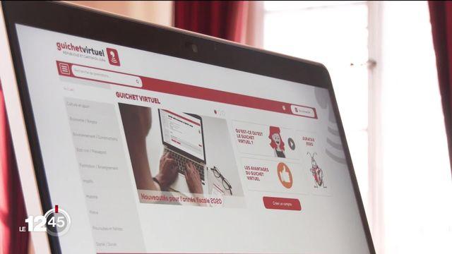 Le Jura ouvre des guichets virtuels pour guider les administrés [RTS]