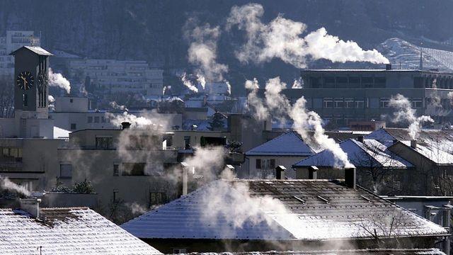 C'est une large alliance qui a lancé ce matin sa campagne en faveur de la loi sur le CO2. [ARNO BALZARINI - KEYSTONE]