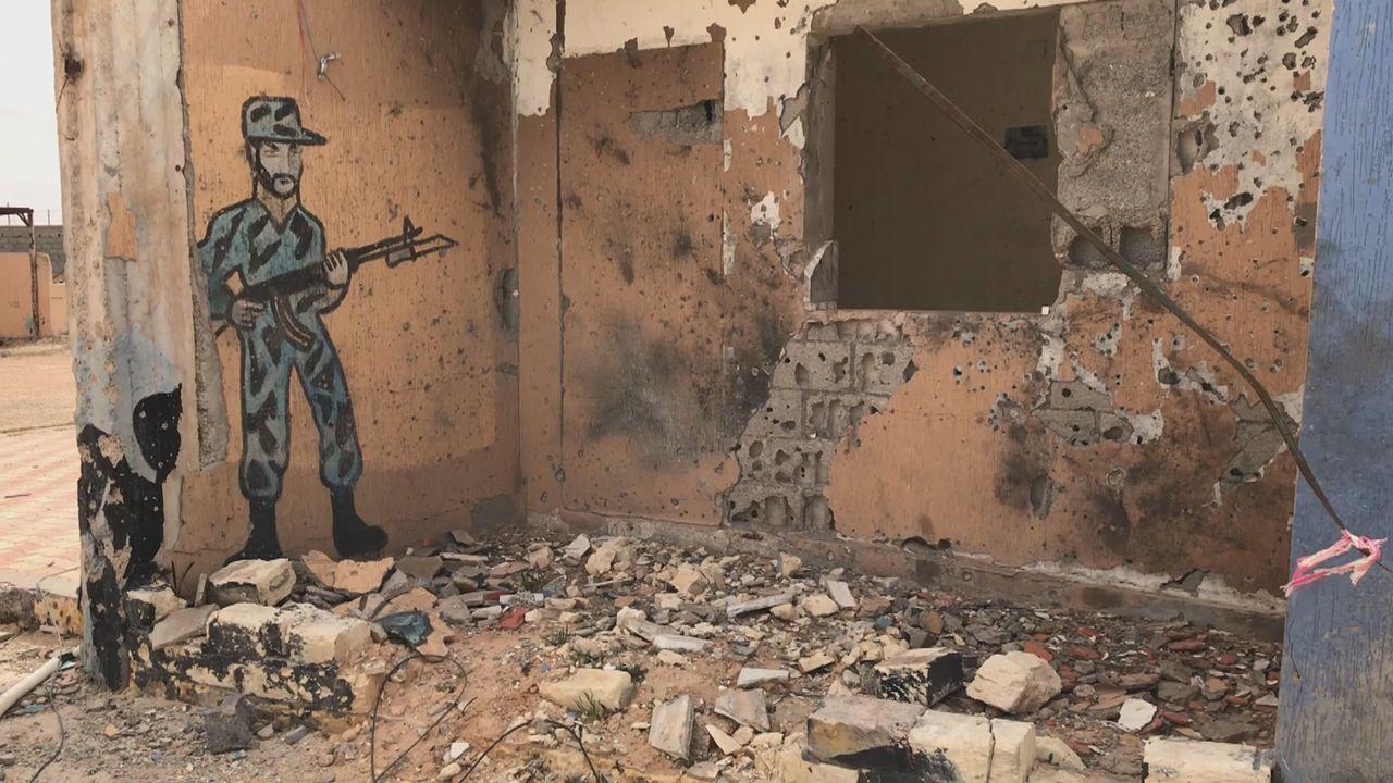 La ville de Tarhuna vit aujourd'hui encore dans la crainte d'un retour de la milice dirigée par les frères Kani. [Maurine Mercier]